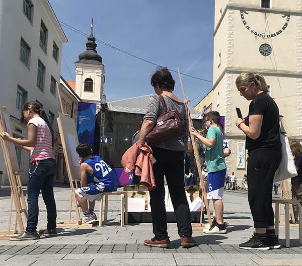 MAKUKI atelire na akcii v meste